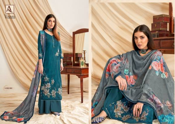 Alok Vaani Zam Cotton Designer Casual Wear Dress Material Collection