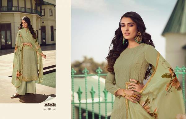 ZUBEDA AVANTIKA Latest fancy Casual Wear Heavy Real Georgette With Embroidery Work Salwar Suit Collection