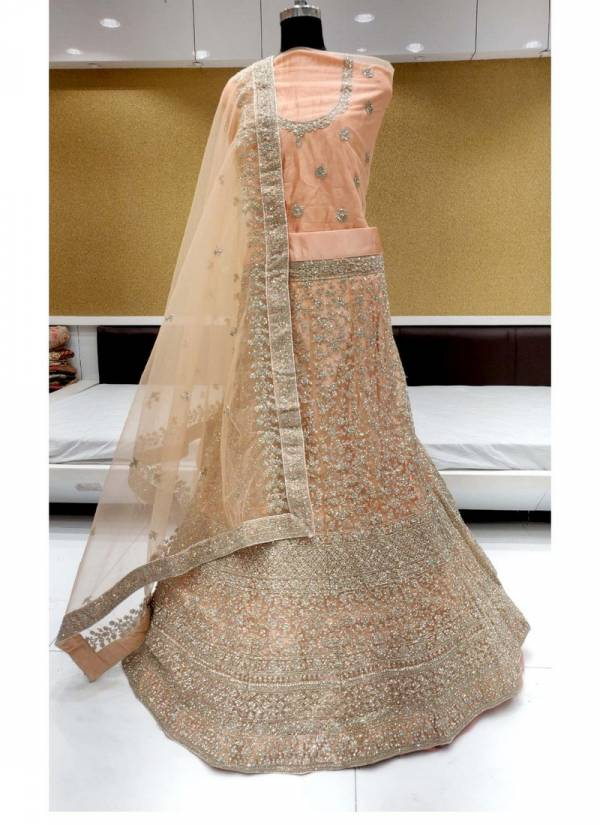 Spark vol 10 Heavy Net and Jarkan stone Designer Party wear Lehenga Choli