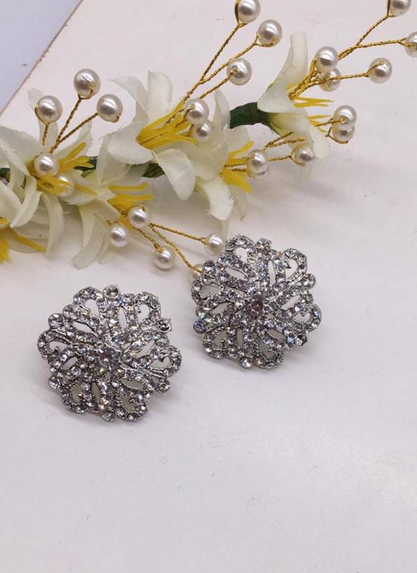 Latest Designer Party Wear Diamond Earring Collection