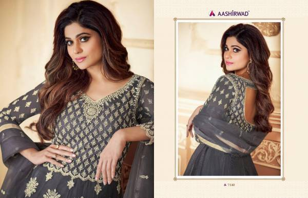 New Designer Party And Wedding Wear Collection With Heavy Embroidered Classy Look Full Butterfly Net
