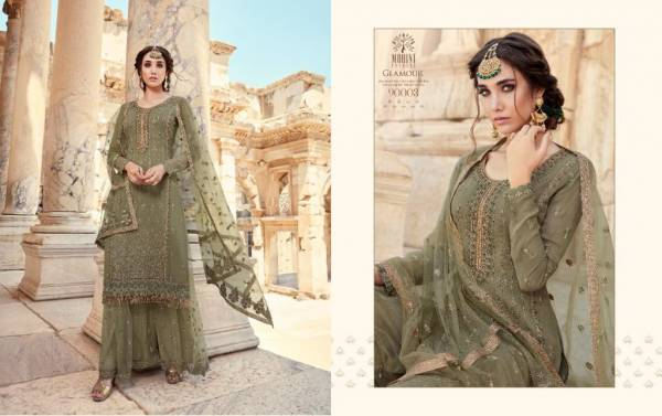 MOHINI GLAMOUR VOL-90 Latest fancy festive Wear Georgette Embroidery Work Heavy salwar suit Collection