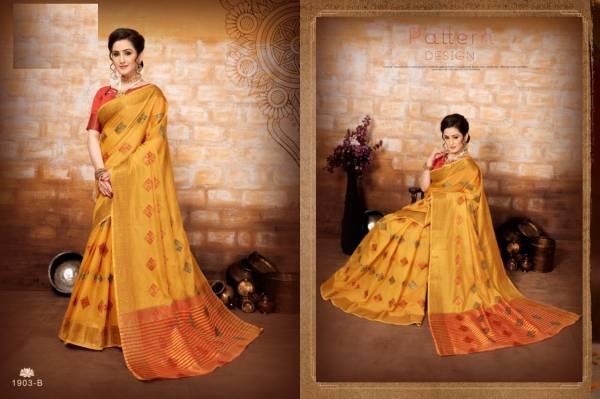 New Collection of Festive Wear Designer Beautiful Printed Art Silk Sarees