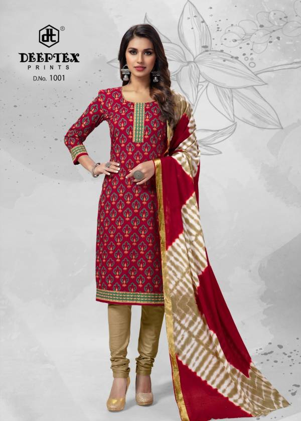 Deeptex Tradition 10 Casual Daily Wear Cotton Printed Dress Material Collection