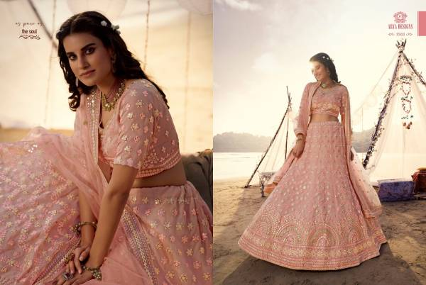Arya Euphoria 7 Heavy Designer Soft Net Wedding and Partywear Lehenga Choli Collections