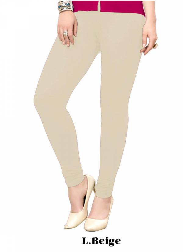 New Color Added in  Cotton Office Wear Plain Leggings Collection