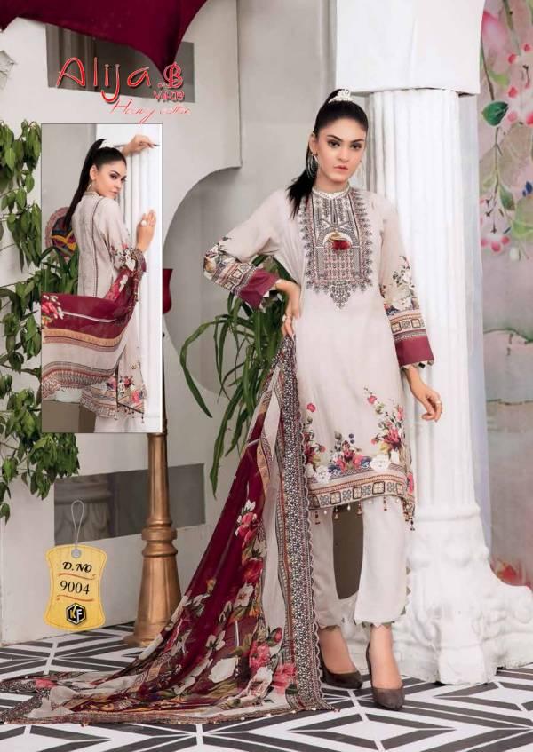 Keval Alija B 9 Exclusive Latest Fancy Designer Casual Wear Pure Cotton Karachi Dress Collection
