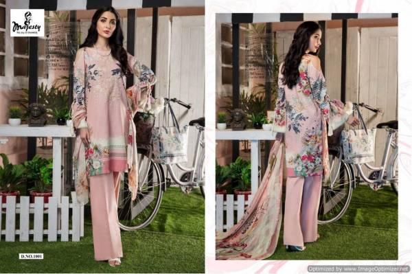 Majesty Firdous Latest Designer Printed Party Wear Lawn Cotton Pakistani Salwar Suit Collection