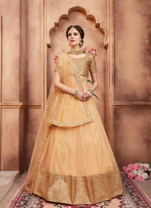 ARYA FLORALS VOL-2 Latest Fancy Designer Festive Wear Soft Net Sequins Thread Work Heavy Lehenga Choli Collection