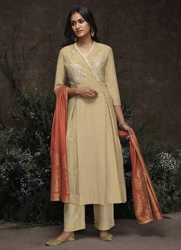 Noora Omtex Aaria Silk Designer Handwork Readymade Salwar Kameez Collection