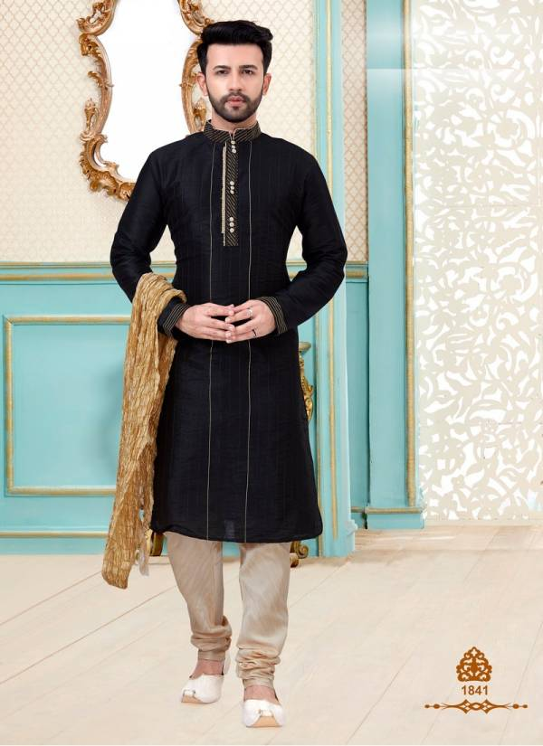 Festival Wear and Party Wear Eid and Diwali Special Designer Dupion Silk Kurta Pajama Collections