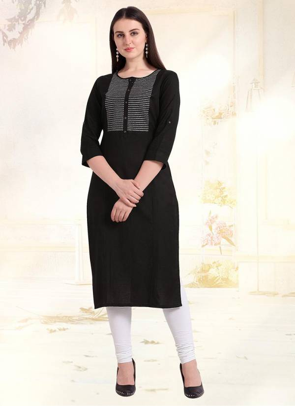 Straight Cut schiffli work Heay Rayon daily wear Designer kurtis Collection