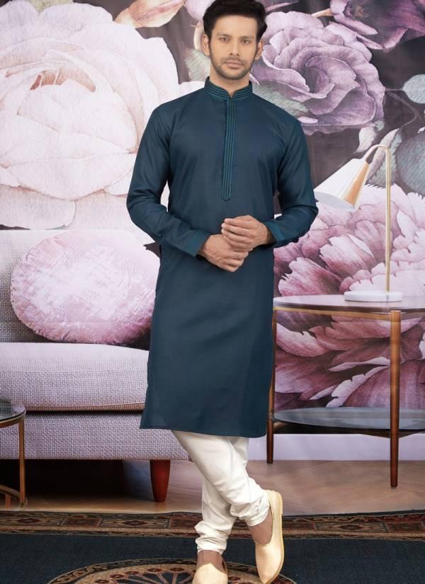 New Designer Embroidery Work Cotton Silk Eid Special Kurta Pajama Collections
