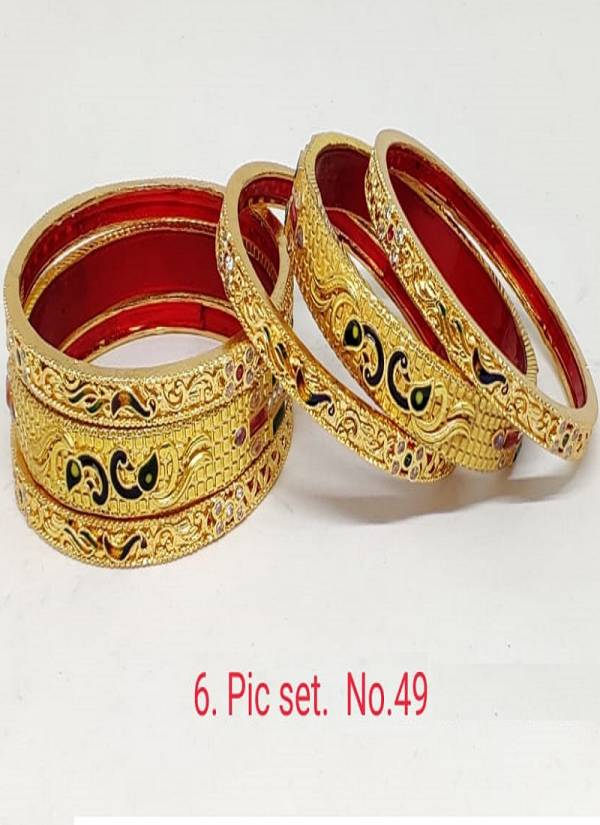 Exclusive Designer Traditional Festive Wear Bangles Collection