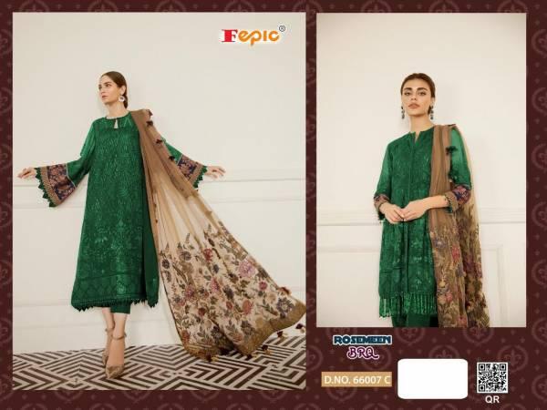Fepic ROSEMEEN Georgette Pakistani Designer Salwar Suit Collections