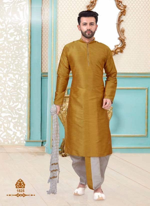 Eid Special Dupion Silk, Linen Cotton and Banarasi Silk Designer and Party Wear Dhoti style and Chdidar Style Kurta Collections