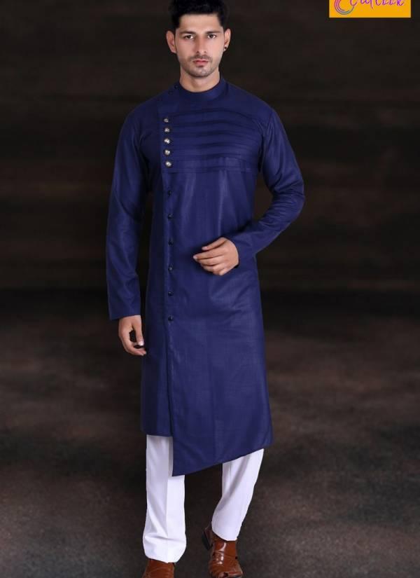Outlook Vol 8 Eid Special Cotton Party Wear Designer Plain Kurta Pajama Collections