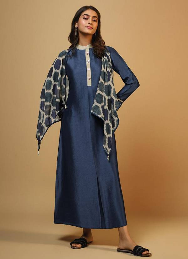 Spark Om tex Casual Wear Printed Kurtis with scarf
