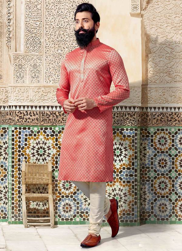 Designer Party wear Jacquard Embroidey Work Kurta Pajama in Wholesale Collection