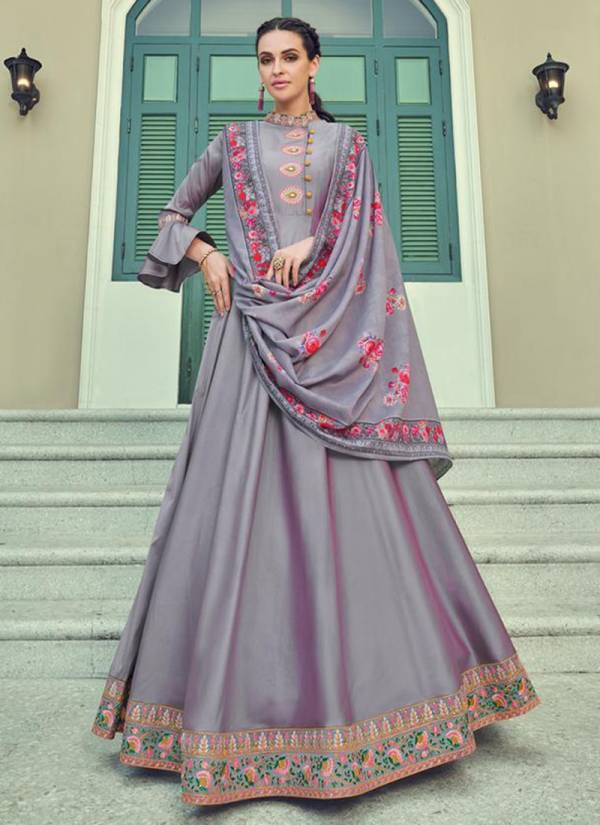 Faux Georgette Designer Party Wear Readymade Anarkali Suits Collection