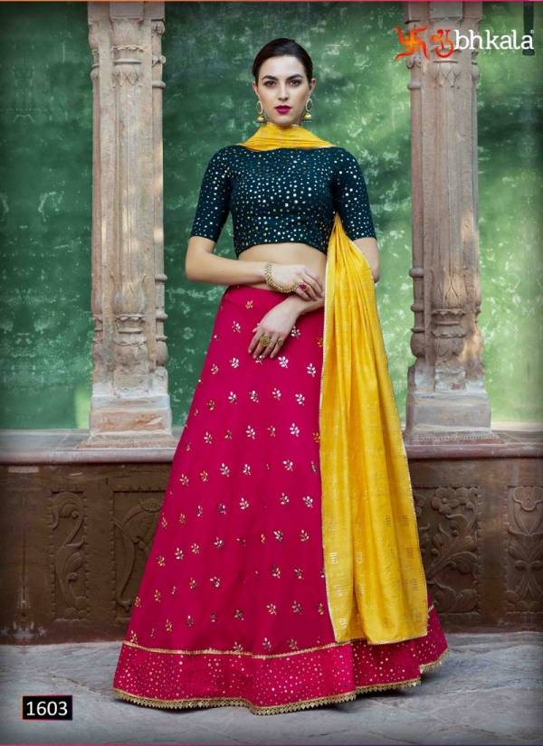 KHUSHBOO BRIDESMAID VOL-10 Latest Fancy Designer Festive Wear Georgette Fancy Thread With Sequence Embroidery Work Lehenga Choli Collection