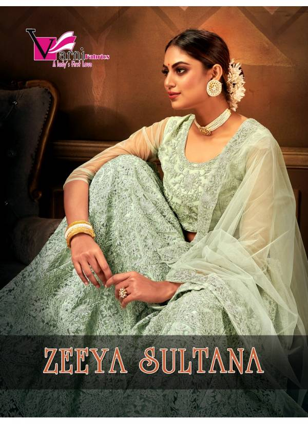 VARNI ZEEYA-SULTANA EXCLUSIVE DESIGNER PARTY WEAR EMBROIDERED LEHNGA COLLECTION