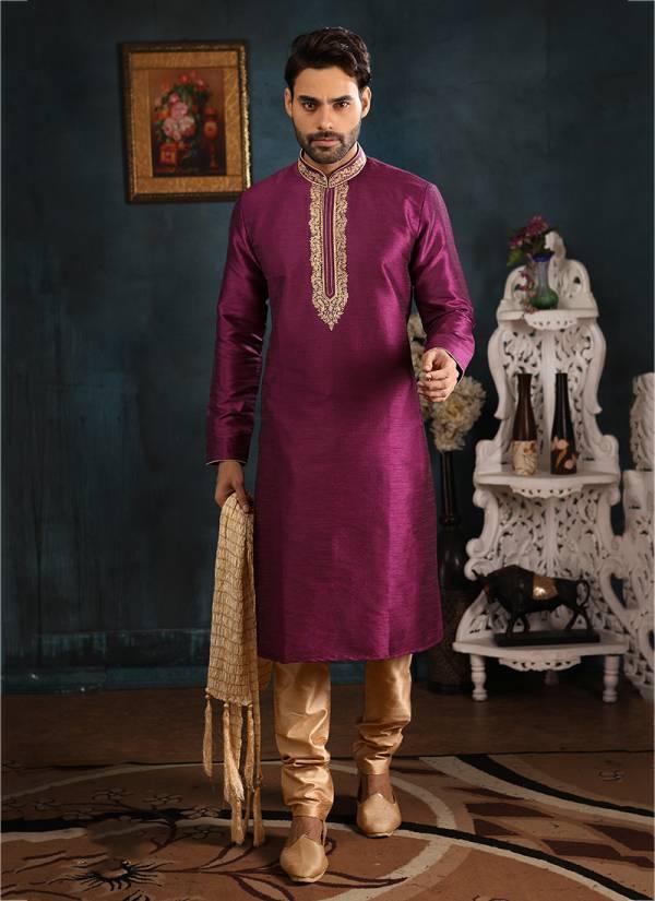 Designer Party wear Cotton And Khadi Kurta Pajama in Wholesale Collection