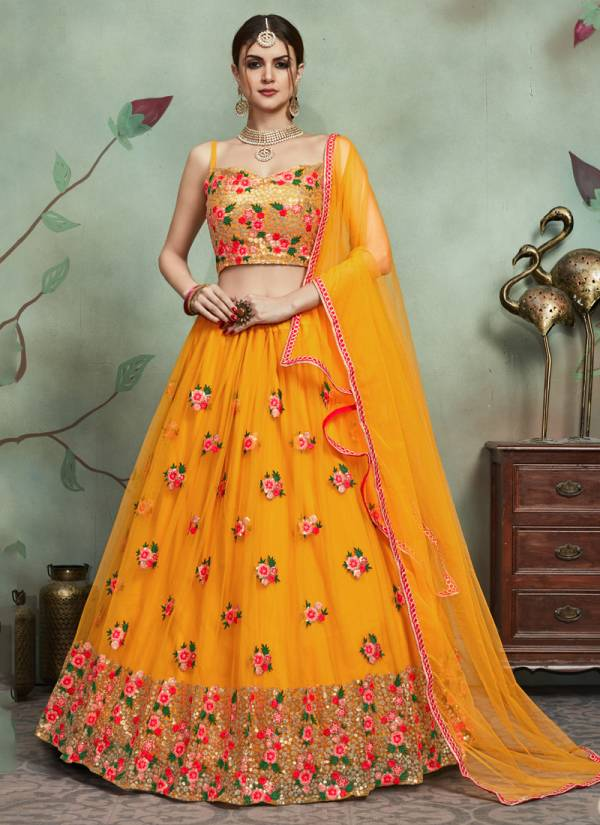 Arya Design Euphoria Vol 2 Heavy Designer Soft Net Wedding and Partywear Lehenga Choli Collections