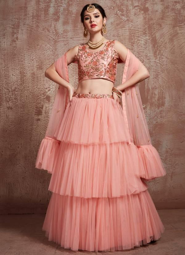 Arya Design Euphoria Vol 1 Heavy Designer Soft Net Wedding and Partywear Lehenga Choli Collections