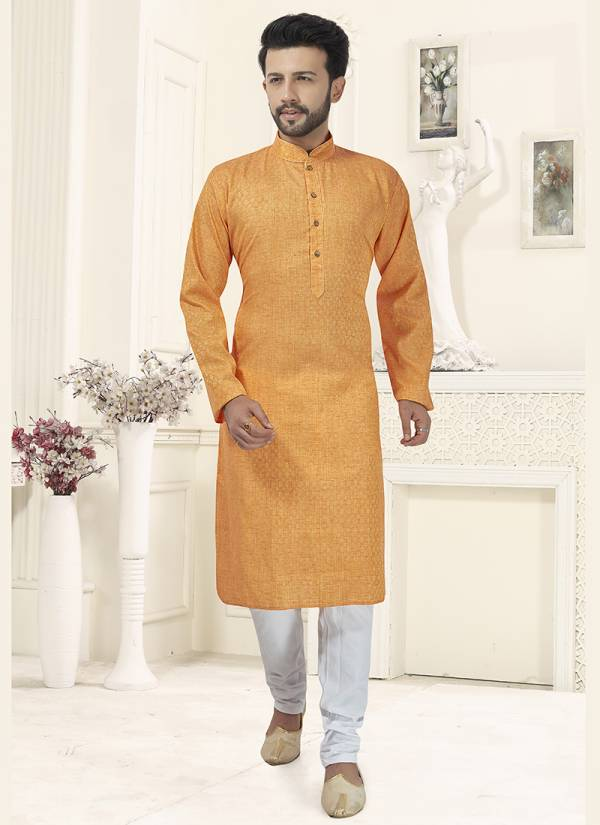 Designer Party wear Cotton And Khadi Kurta Pajama in Wholesale Collection