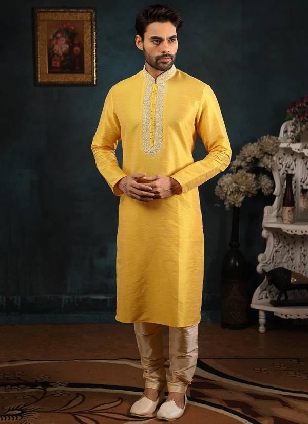 Designer  Wedding and Party Wear Banarasi Silk Embroidery and Handwork Kurta Pajama in Wholesale Collection