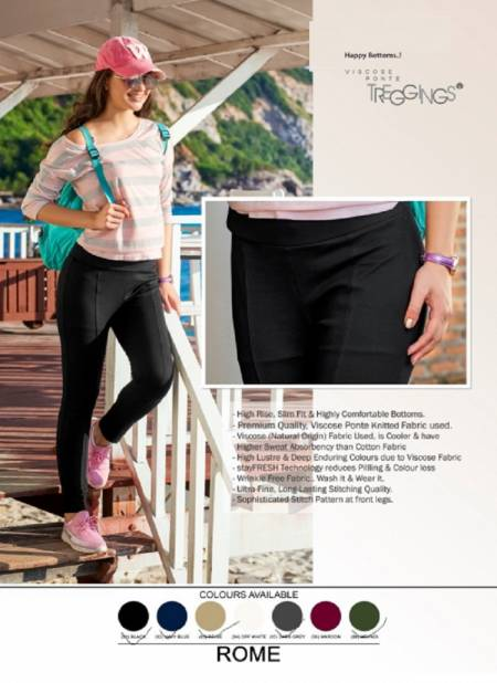 100 Miles Rome Casual Wear Comfortable Pant Collection
