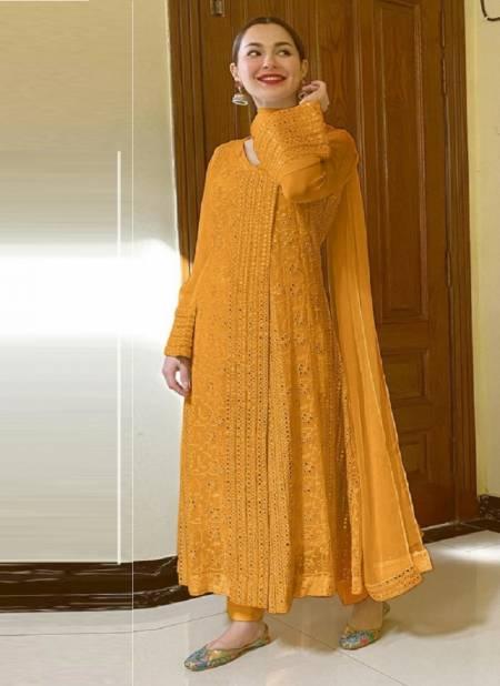 Ramsha R 346 NX 2 Georgette Exclusive Wear Embroidery Work Pakistani Salwar Kameez Collection