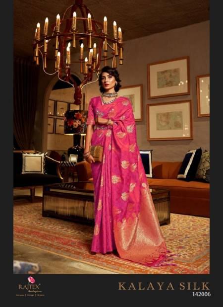 Rajtex Kalaya Silk Designer Party Wear Soft Satin Silk Saree Collection at Wholesale Price
