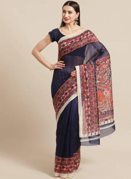 The Ethnic World Bhagalpuri Daily Use Designer Rich Look Elegant Saree Collections