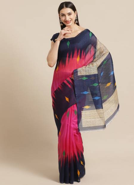 Daily Wear and Official Bhagalpuri Designer Saree Collectons