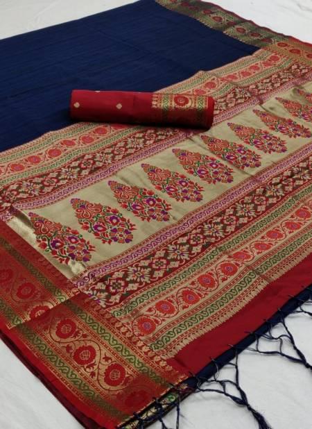 Non Catalog Katriya Silk Pure Silk Weaving Work Designer and Party Wear Saree Collections