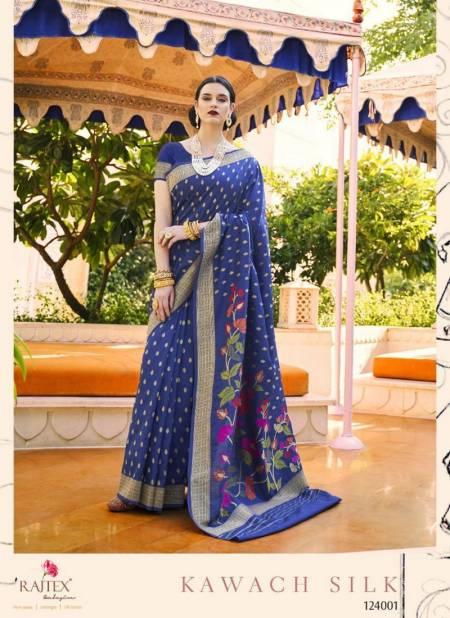 Rajtex Kawach Handloom Weaving Silk Designer and Partwear Sarees Collection