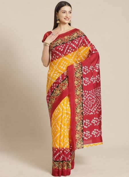 Elegant and Simple Look Designer Bhagalpuri Saree Collections
