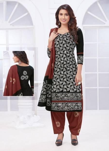 Aarvi Battik Special 15 Regular Casual Wear Cotton Printed Designer Dress Material Collection