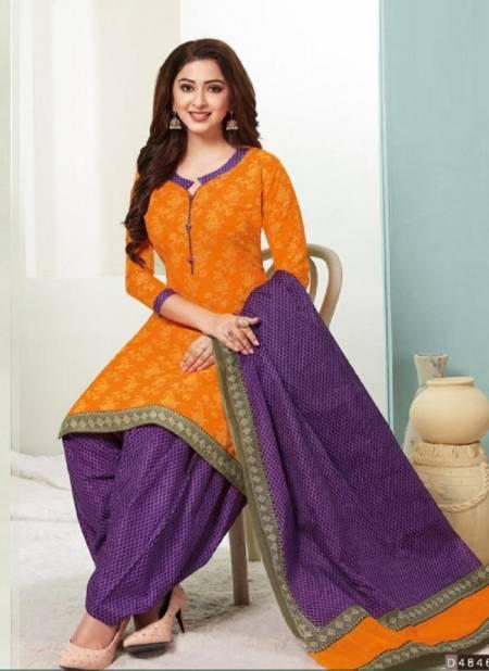 Aarvi Fashion Super Patiyala 2 Regular Wear Cotton Printed Ready Made Collection