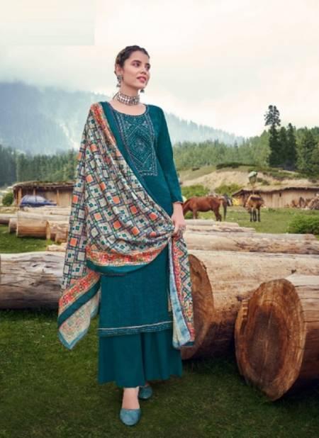 Alok Aakriti Digital Printed Winter Festive Wear Designer Wool Pashmina Collection