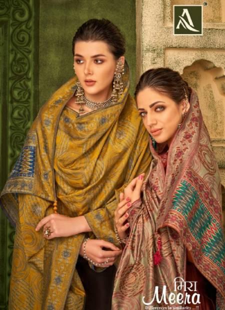Alok Meera Fancy Festive Wear Embroidery Jam Cotton Designer Salwar Kameez Collection