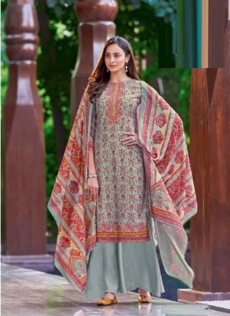 Alok Swara Digital Printer Winter Casual Wear Wool Pashmina Designer Collection
