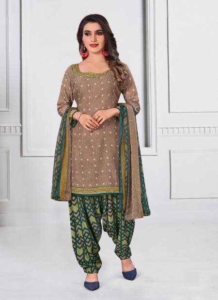 Amit Rupali 6 Micro Synthethic Regular Wear Printed Cotton Designer Latest Collection