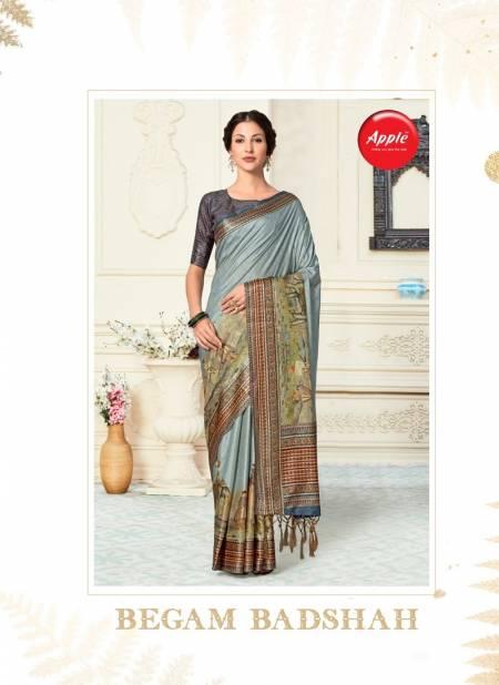 APPLE BEGAM BADSHAH Latest Designer fancy Regular Wear Dola Patta Fancy Saree Collection