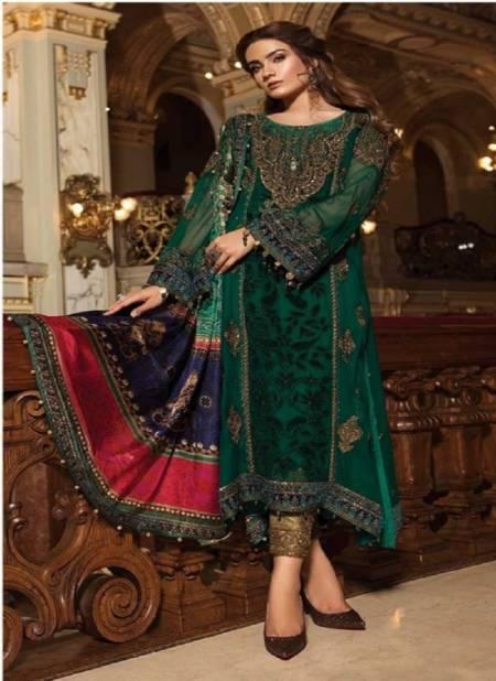 Asim Jofa 56049 Georgette Festive Wear Designer Fancy Pakistani Salwar Kameez