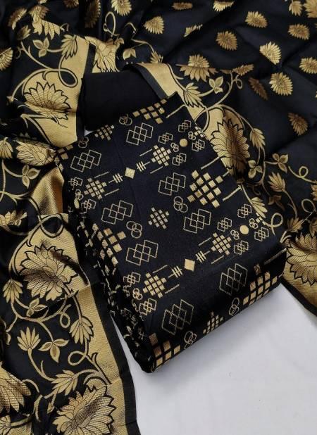 Banarasi 102 Festive Wear Banarasi silk Printed Dress Material Collection