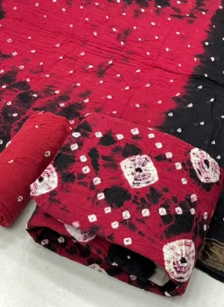 Bandhej Cotton 55 Regular Wear Cotton Printed Designer Dress Material Collection