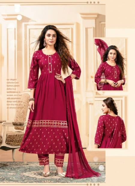 Beauty Queen Dholna Festive Wear Rayon Printed Ready Made Collection